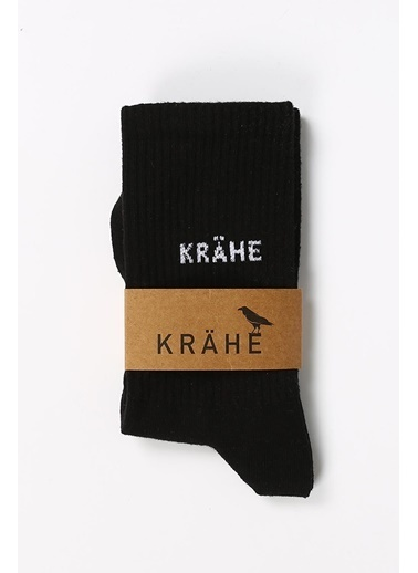 Krähe Çorap Siyah
